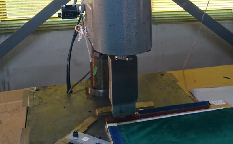 超音波ウェルダー加工